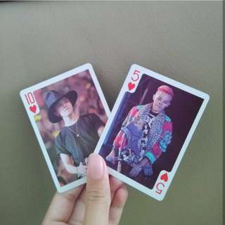 BigBang Inspired Poker Cards