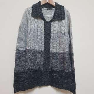 緬甸製 針織外套 oversize