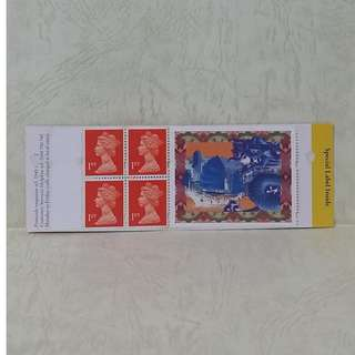 uk(英國)stamp-stamp booklet