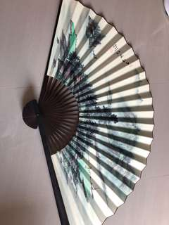 Folding big Chinese Calligraphy Fan