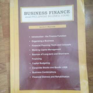 Business Finance and Philippine and Business Firms