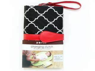 🌈(Ready Stock) 🆕Brand New JJOVCE Portable Diaper Changing Pad Baby Changing Clutch Travel