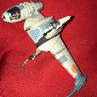 Star Wars Action Fleet B-Wing Starfighter with Admiral Ackhbar Vintage 1997