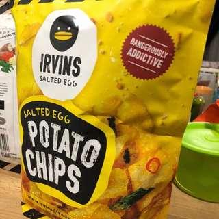 Irvins Salted Egg Potato Chips 230g