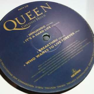 NM Queen greatest hits II vinyl record only extra one piece