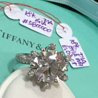 Tiffany & Co Dia Ring w/ GIA CERT