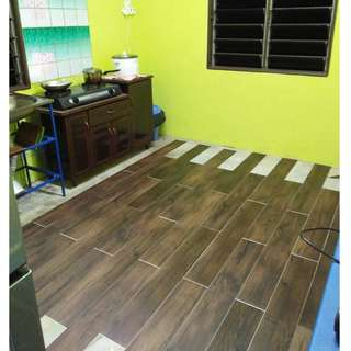 DIY Vinyl Floor (Self Install)