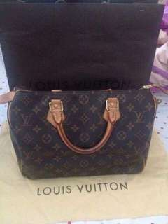 AUTHENTIC LV MONOGRAM SPEEDY 30