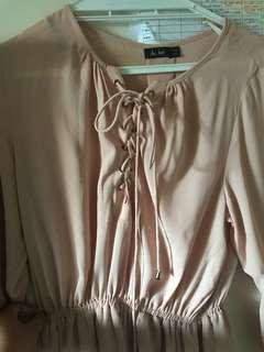 Dotti nude dress size 14