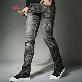 Patch Jeans 28-38
