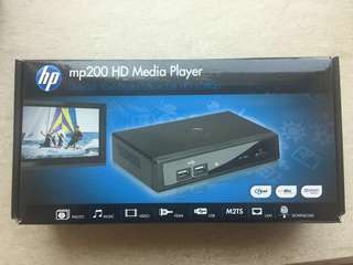 HP mp200 HD Media Player (100% new)