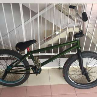Bmx for trades with fixie