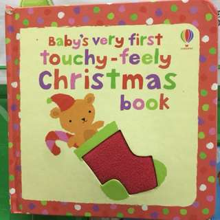 Usborne touch and feel Christmas Board Book