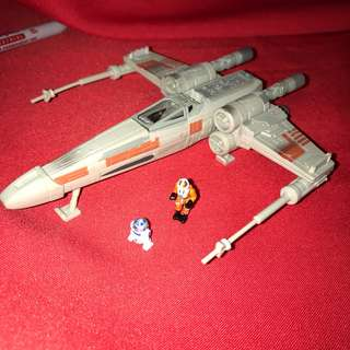 Star Wars Action Fleet RED 5 LUKE'S X-WING Starfighter Vintage 1995