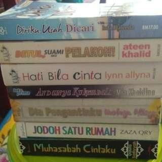 Preloved malay novel