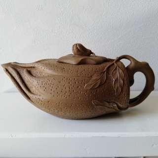 佛手紫砂茶壺