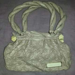 Louis Vuitton Limited Edition Beige Monogram Olympe Stratus Shoulder PM Bag