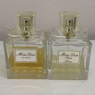 Miss Dior Perfume (selling together)