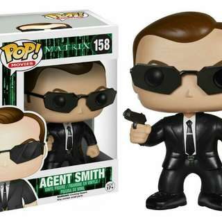 Funko Pop The Matrix Agent Smith