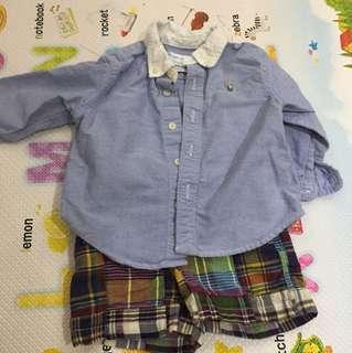 Shirt pants set