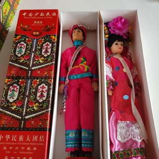 Ethic Chinese Dolls