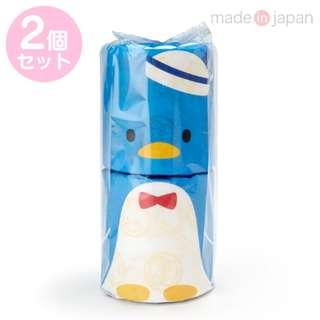 Japan Sanrio Tuxedosam Roll Toilet Tissue 2 Piece Set
