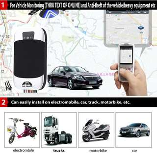 GPS Tracker for Car and Motorcycle for 3000 only