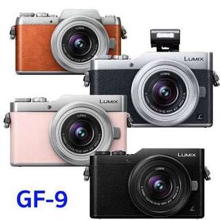 Kredit Panasonic Lumix GF9 Mirrorless Dp ringan tanpa Cc
