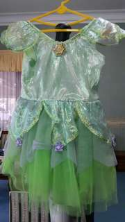 Dress tinkerbell .. buat custom party anak