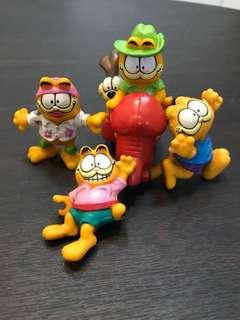 Vintage Garfield Figurines (1990s)