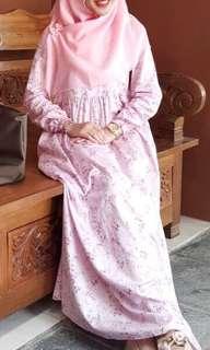 Zizara pink dress