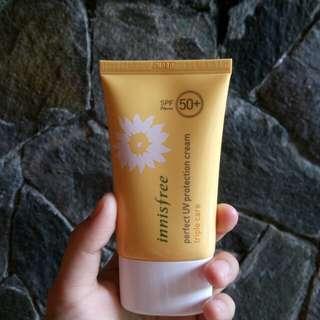 Innisfree Perfect UV Protection Cream SPF 50+ PA+++ Triple Care