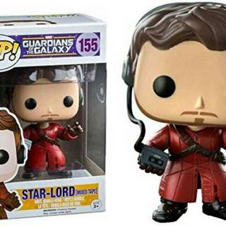 Funko Pop Star Lord Mixed Tape Bobble head Guardians of the Galaxy
