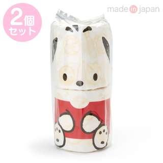 Japan Sanrio Pochacco Roll Toilet Tissue 2 Piece Set