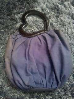 Cheche of New York Large Purple Handbag