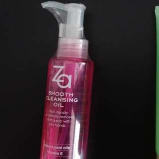 Za Smooth Cleansing Oil 100ml -new