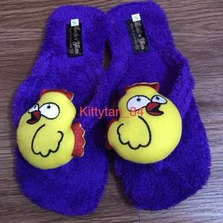 Brand New Fury Bedroom Slippers/Size 10 About Ladies Size 7-8