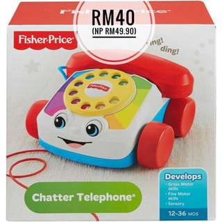 NEW Fisher-Price Chatter Telephone