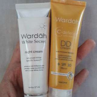 Wardah dd and night cream