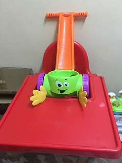 Baby chair with toys