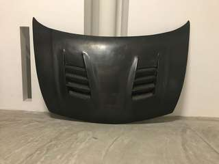 Js racing carbon bonnet - FD AND FD2R