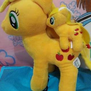Boneka my little pony (apple jack)