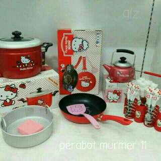 Peralatan masak 1 set hello kitty
