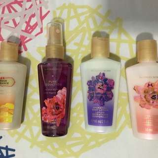 REPRICED! Victoria Secret Fragnance Mist and Body Lotion