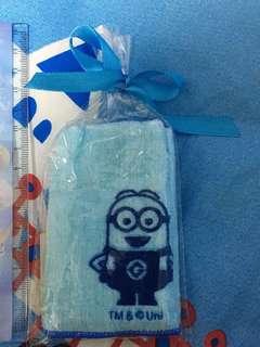 Minions bob 藍色 毛巾仔