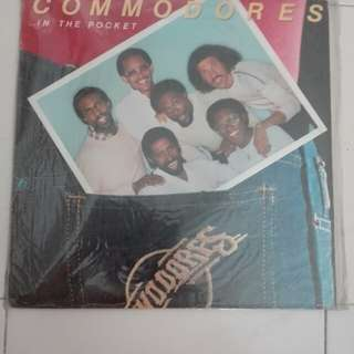 Commodores In The Pocket Vinyl LP