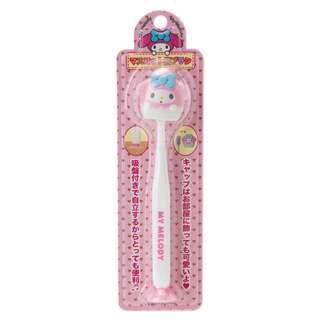 Japan Sanrio My Melody Toothbrush with Suction Cup