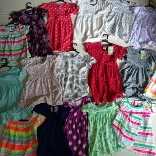 Aneka Dress Harian Anak (6bulan sd 3th)