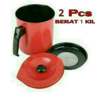 Oil pot merah 1,5 liter