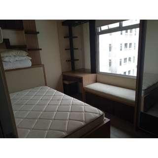 Unit Apartement Greenbay 2 kamar tower E